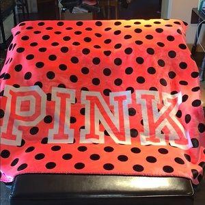 NEW!! VS PINK HTF RARE Sherpa Blanket DO NOT BUY!
